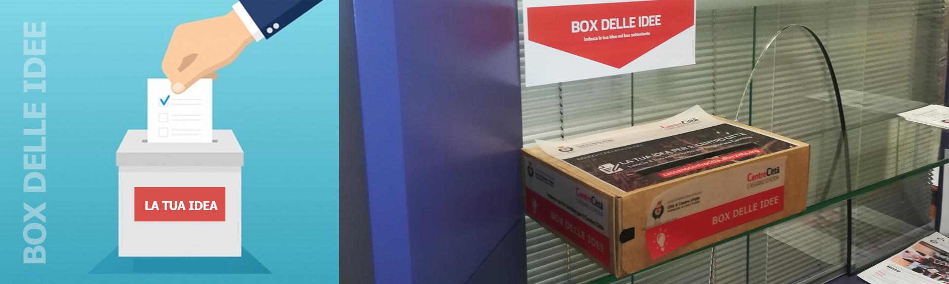 BOX DELLE IDEE